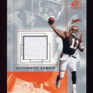 2001 SP Game Used Edition Authentic Fabric #AS Akili Smith - Cincinnati Bengals Game-Used Jersey