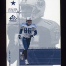 2001 SP Game Used Edition Football #027 Carl Pickens - Dallas Cowboys