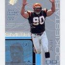 2001 SPx Football #133B Justin Smith RC - Cincinnati Bengals 184/999