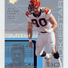 2001 SPx Football #133G Justin Smith RC - Cincinnati Bengals /999