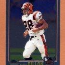 2001 Topps Chrome Football #174 Corey Dillon - Cincinnati Bengals