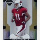 2008 Leaf Limited Football Gold Spotlight #003 Larry Fitzgerald - Arizona Cardinals 01/49