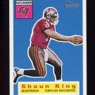 2001 Topps Heritage Football #094 Shaun King - Tampa Bay Buccaneers