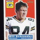 2001 Topps Heritage Football #084 Bill Schroeder - Green Bay Packers