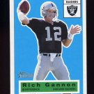 2001 Topps Heritage Football #079 Rich Gannon - Oakland Raiders