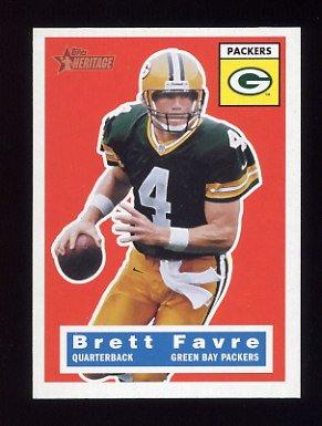 2001 Topps Heritage Football #075 Brett Favre - Green Bay Packers