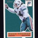 2001 Topps Heritage Football #058 Zach Thomas - Miami Dolphins