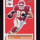 2001 Topps Heritage Football #052 Tony Gonzalez - Kansas City Chiefs