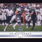 2001 Upper Deck Football #056 Ed McCaffrey - Denver Broncos