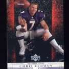 2001 Upper Deck Football #016 Chris Redman - Baltimore Ravens