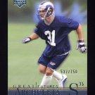 2001 Upper Deck Legends Football #154 Adam Archuleta RC - St. Louis Rams 537/750