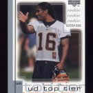 2001 Upper Deck Top Tier Football #263 T.J. Houshmandzadeh RC - Cincinnati Bengals /1500