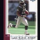 2001 Upper Deck Top Tier Football #128 Duce Staley - Philadelphia Eagles