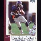 2001 Upper Deck Top Tier Football #052 Terrell Davis - Denver Broncos