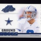 2002 Absolute Memorabilia Football Ground Hoggs #GH7 Troy Aikman - Dallas Cowboys