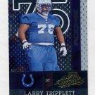 2002 Absolute Memorabilia Football #190 Larry Tripplett RC - Indianapolis Colts /1500