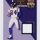2002 Flair Football Jersey Heights Jerseys #09 Randy Moss - Vikings Game-Used Jersey