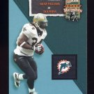 2002 Flair Football Jersey Heights #01 Ricky Williams - Miami Dolphins