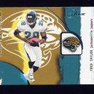 2002 Flair Football Franchise Favorites #10 Fred Taylor - Jacksonville Jaguars