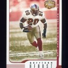 2002 Fleer Focus JE Football #094 Garrison Hearst - San Francisco 49ers
