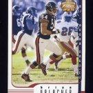 2002 Fleer Focus JE Football #052 Brian Urlacher - Chicago Bears