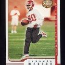 2002 Fleer Focus JE Football #040 Johnnie Morton - Kansas City Chiefs