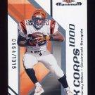 2002 Fleer Maximum Football K Corps #31 Corey Dillon - Cincinnati Bengals 0664/1315