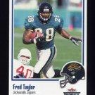 2002 Fleer Throwbacks Football #093 Fred Taylor - Jacksonville Jaguars