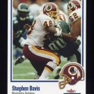 2002 Fleer Throwbacks Football #077 Stephen Davis - Washington Redskins