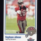 2002 Fleer Throwbacks Football #071 Keyshawn Johnson - Tampa Bay Buccaneers
