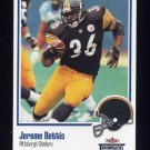 2002 Fleer Throwbacks Football #065 Jerome Bettis - Pittsburgh Steelers