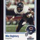 2002 Fleer Throwbacks Football #050 Mike Singletary - Chicago Bears
