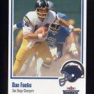 2002 Fleer Throwbacks Football #037 Dan Fouts - San Diego Chargers