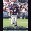 2002 Playoff Honors Football #036 Corey Bradford - Houston Texans