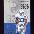 2002 Score Football In The Zone #16 Dominic Rhodes - Indianapolis Colts
