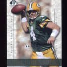 2002 SP Legendary Cuts Football #062 Brett Favre - Green Bay Packers
