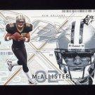 2002 SPx Football #075 Deuce McAllister - New Orleans Saints