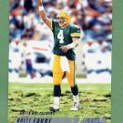 2002 Stadium Club Football #125 Brett Favre - Green Bay Packers