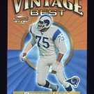 2001 Bowman's Best Vintage Best #VBDJ Deacon Jones - Los Angeles Rams