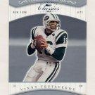 2001 Donruss Classics Timeless Tributes #063 Vinny Testaverde - New York Jets 005/100