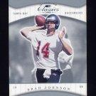 2001 Donruss Classics Football #087 Brad Johnson - Tampa Bay Buccaneers