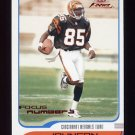 2001 Fleer Focus Numbers #188 Chad Johnson RC - Cincinnati Bengals 158/218
