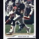 2001 Fleer Focus Football #162 Tim Brown - Oakland Raiders