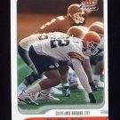 2001 Fleer Focus Football #108 Rickey Dudley - Cleveland Browns