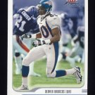 2001 Fleer Focus Football #061 Rod Smith - Denver Broncos