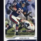 2001 Fleer Focus Football #031 James Allen - Chicago Bears