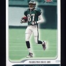 2001 Fleer Focus Football #007 Todd Pinkston - Philadelphia Eagles