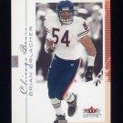 2001 Fleer Genuine Football #020 Brian Urlacher - Chicago Bears