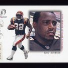 2001 Fleer Legacy Football #111 Rudi Johnson RC - Cincinnati Bengals 349/999