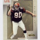 2001 Fleer Showcase Football #166 Justin Smith RC - Cincinnati Bengals 1462/2000